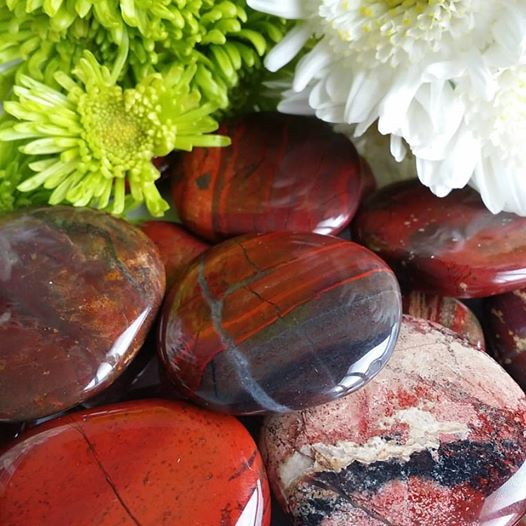 Brecciated Jasper Palm Stone (1 PIECE)