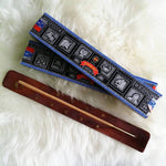 Wooden Incense Holder & 2 Boxes of Satya Nag Champa Incense Sticks
