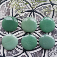 Green Aventurine Palm Stone (1 PIECE)