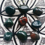 Bloodstone Tumbled (1 PIECE)