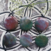 Fancy Jasper Palm Stone (1 PIECE)