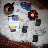 *The Sacred Medicine of YOUR Story, an e-book of 22 card spreads