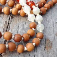 Sacral Chakra Mala by Sisters of Rishikesh
