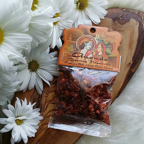 Clearing Negativity, Ananda Resin