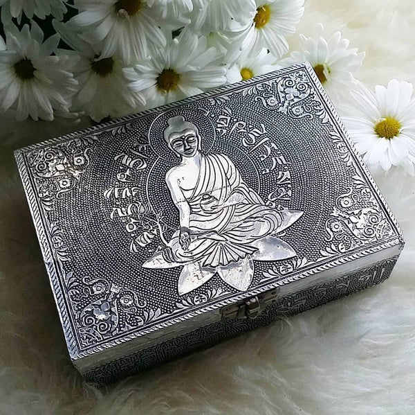 Buddha Box with Metal Exterior
