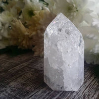 Cracked Quartz Point