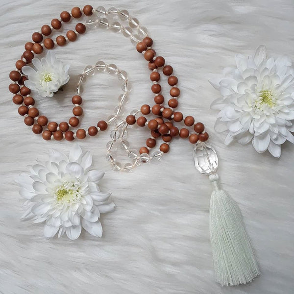 Crown Chakra Mala by Sisters of Rishikesh