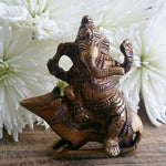 Ganesha with Rat Vahana Statue