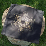 Metatron Cloth Crystal Grid