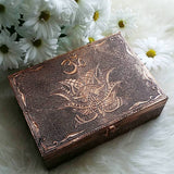 Om Box with Bronze Exterior