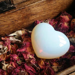 Opalite Puffy Heart (1 PIECE)