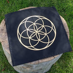 Seed of Life Cloth Crystal Grid