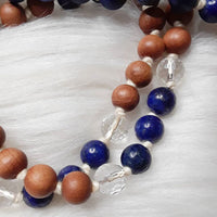 Throat Chakra Mala by Sisters of Rishikesh