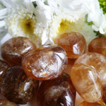 Honey Calcite Tumbled (1 PIECE)