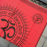 Om Prayer/Altar Cloth (1 PIECE)
