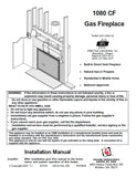 Travis 1080 CF Insert Tech Manual - Gas_1080_CF_GAS