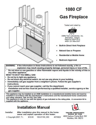 Remarkable Travis 1080 Cf Insert Tech Manual Gas 1080 Cf Gas Download Free Architecture Designs Grimeyleaguecom