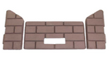 3-Piece cerra board panels (firebrick) 11750015