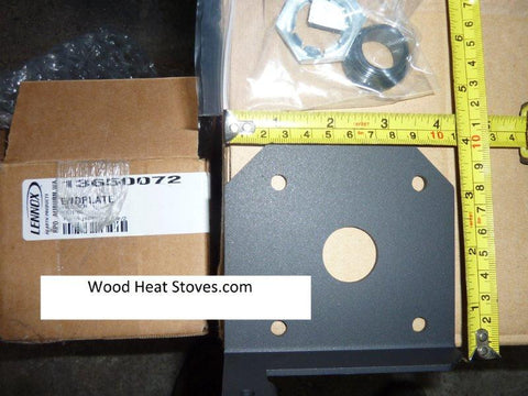 Quest Pellet Stove Auger Bushing and Endplate_13650072