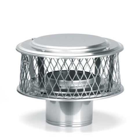 "11"" HomeSaver Guardian Cap, 316 Alloy, 3/4"" Mesh_13852"
