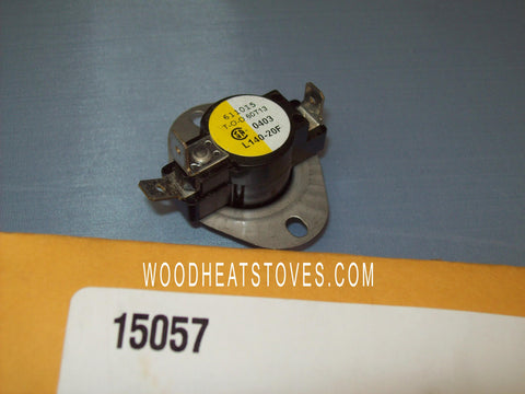 Earth Stove DISC,FAN 15057 - 60T13 (611015) L140-2_15057