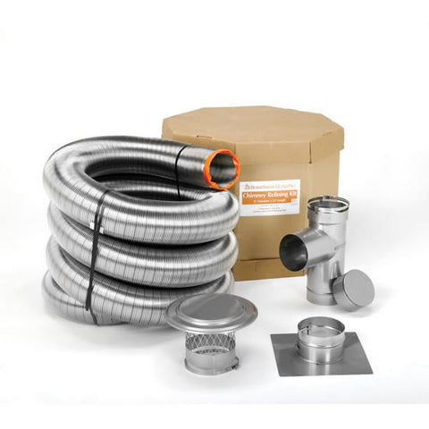 "6"" x 35' HomeSaver Ultrapro Liner Kit_17194"