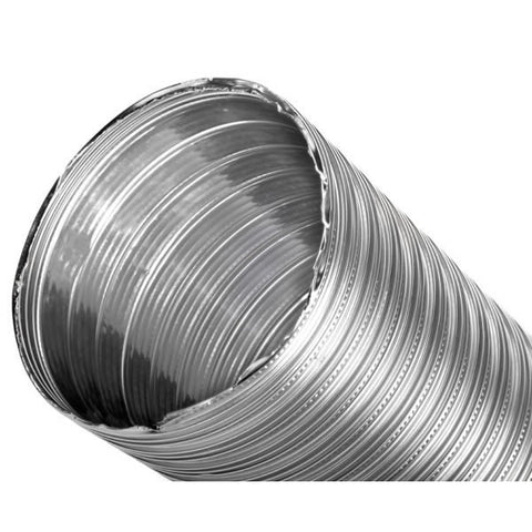 "7"" x 35' DuraFlex SW Smooth Wall Liner,  2-ply 316Ti Stainless S_18594"
