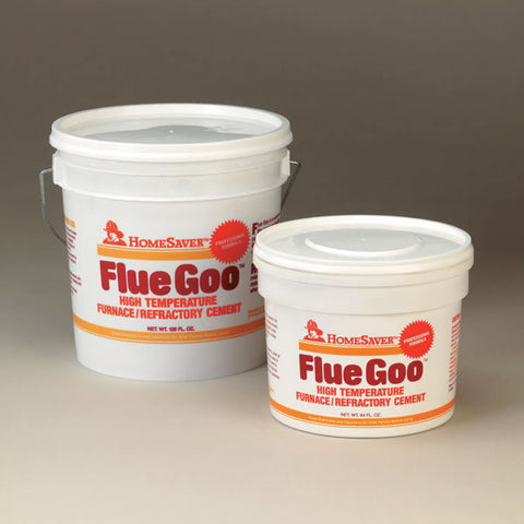 HomeSaver Flue Goo Furnace/refractory Cement, Buff, Pre-mixed, 3_29525