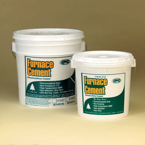 IPC Furnace Cement, Gray 1 Gallon Container_29810