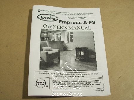 EMPRESS FS DOMESTIC OWNERS MANUAL_50-1266