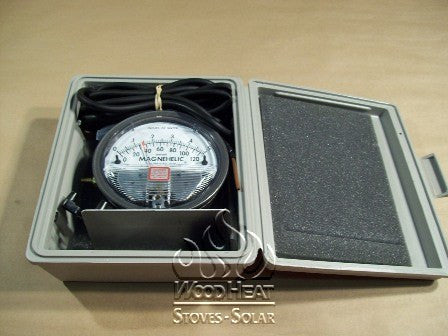 MAGNAHELIC GAUGE & KIT (FOR TESTING PELLET STOVES)_50-554