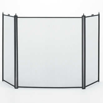 3 Fold Black Folding Screen_61034