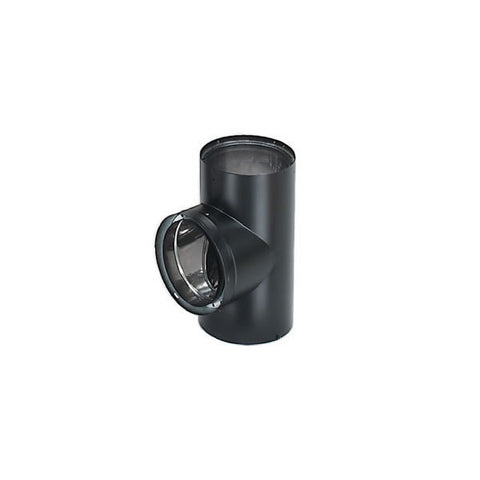 "8"" Dura-Vent DVL Double-Wall Tee With Cover_69182"
