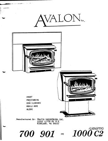 Avalon 700 1987 User Manual - Wood_AV700