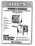 Avalon 796, 1990-93, User Manual - Wood_Avalon796