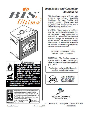 Bis Ultima User Manual - Wood_BisUltima