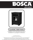 Bosca Classic 500 user's Manual - Pellet_Bosca 500