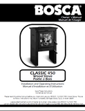 Bosca Classic 450 user's Manual - Wood_Bosca 450C