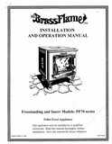 Brass Flame PF70 User's Manual - Pellet_Brass Flame PF70