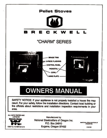 Breckwell P22 Charm 1994 User Manual - Pellet_bp22p1994