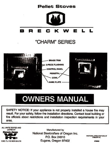 Breckwell P22 Charm 1995 User Manual - Pellet_bp22p1995