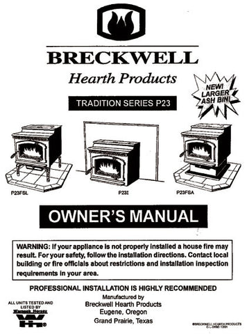 Download breckwell classic cast pellet stove manual | diigo groups.