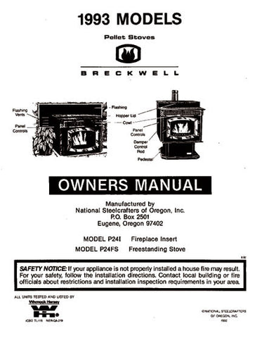 Breckwell P24 1993 User Manual - Pellet_bp24p1993