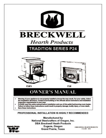 Breckwell P24 2002 User Manual - Pellet_bp242002