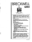 Breckwell G29DV 1997 User Manual - Gas_BreckwellG29DV1997