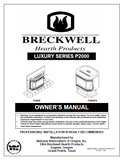 Breckwell P2000 2004 User Manual - Pellet_BreckwellP2000-2004