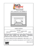 Buck Stove 85 User Manual - Wood_BSM85