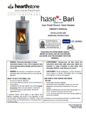HearthStone Bari 8180 User Manual - Wood_HSBari8180