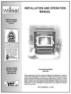 Whitfield Cascade User Manual - Pellet_wcps