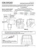 Century Heating S244E/EP 245E/EP User's Manual - Wood_CenturyS244E-EP245E-EP